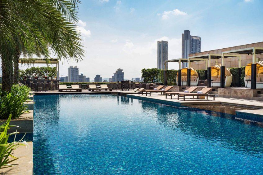The St. Regis Mumbai Luxury Hotel - Mumbai, India - Outdoor Pool
