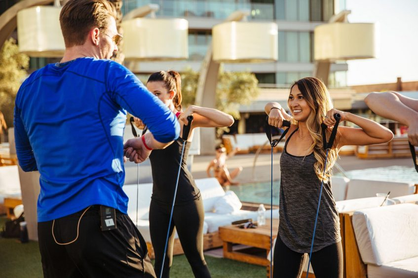 W Scottsdale Luxury Hotel - Scottsdale, AZ, USA - FIT Gym Outdoor Activities