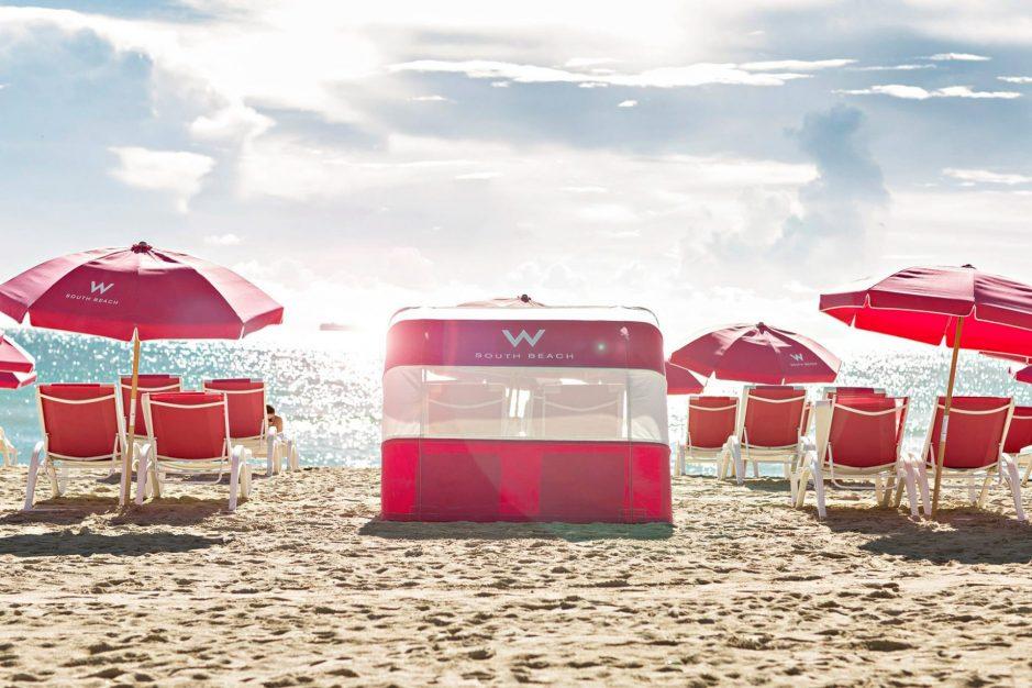 W South Beach Luxury Hotel - Miami Beach, FL, USA - SAND W Beach_