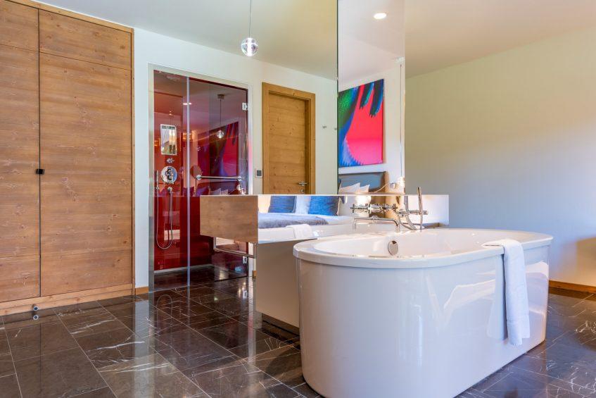 W Verbier Luxury Hotel - Verbier, Switzerland - Splendid Residence Bathroom