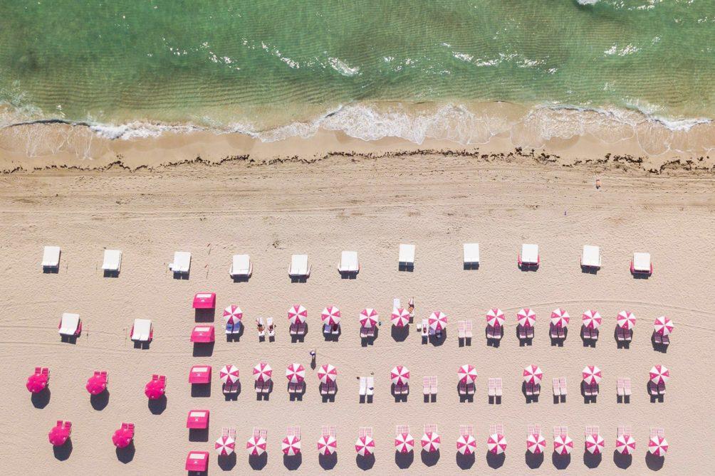 W South Beach Luxury Hotel - Miami Beach, FL, USA - W Beach Overhead
