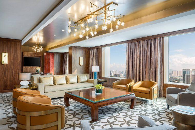 The St. Regis Macao Luxury Hotel - Cotai, Macau SAR, China - Presidential Suite Living Area