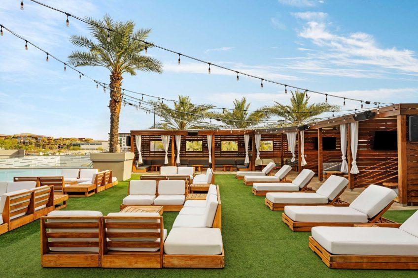 W Scottsdale Luxury Hotel - Scottsdale, AZ, USA - WET Deck Chairs