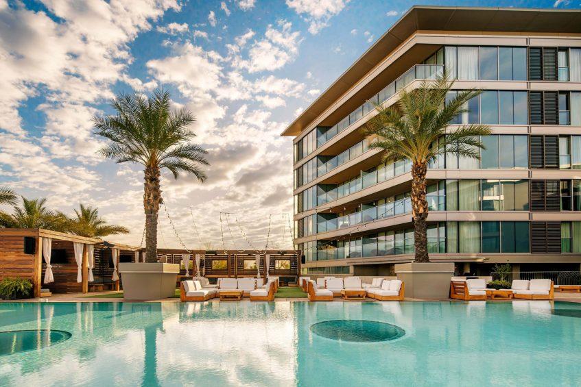 W Scottsdale Luxury Hotel - Scottsdale, AZ, USA - WET Deck Pool