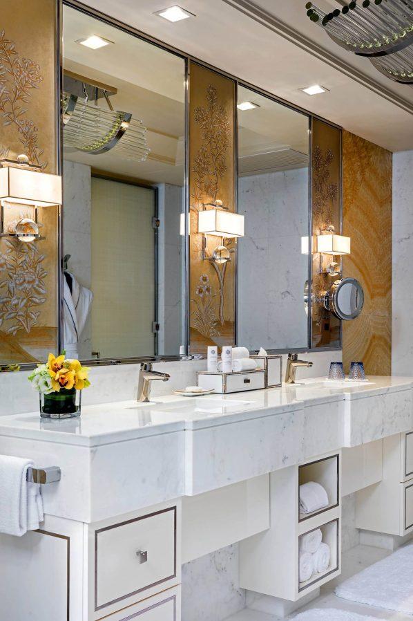 The St. Regis Macao Luxury Hotel - Cotai, Macau SAR, China - Presidential Suite Master Bedroom Bathroom
