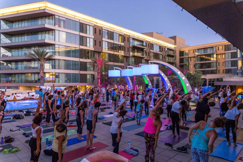 W Scottsdale Luxury Hotel - Scottsdale, AZ, USA - Yoga Fuel Event