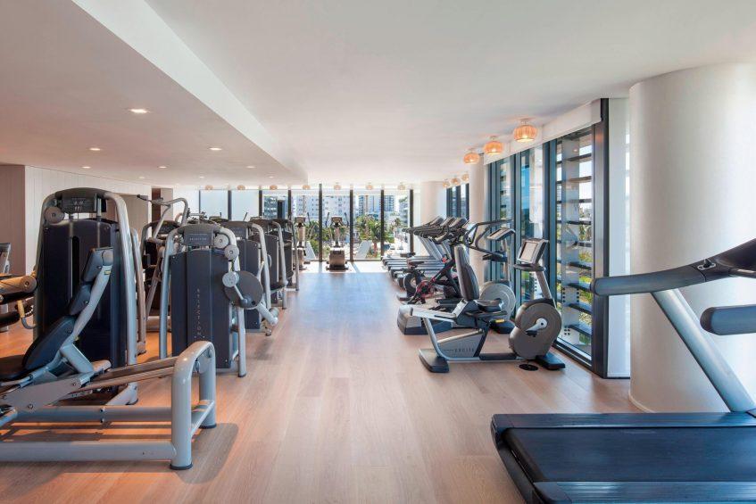 W South Beach Luxury Hotel - Miami Beach, FL, USA - Fit Gym