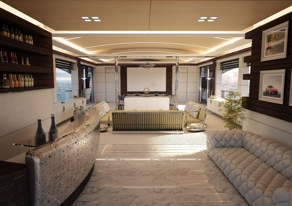 Discover Six of the Best Luxury Yachts for Sale - New Build - REALE MY OMBRA 37 - Salon