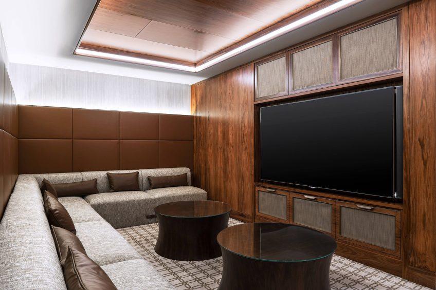 The St. Regis Macao Luxury Hotel - Cotai, Macau SAR, China - Presidential Suite Media Room