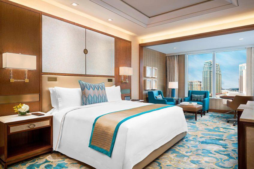 The St. Regis Macao Luxury Hotel - Cotai, Macau SAR, China - Cotai Deluxe Guest Room