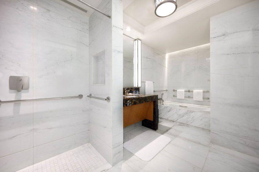 The St. Regis Macao Luxury Hotel - Cotai, Macau SAR, China - Accessible Guest Bathroom