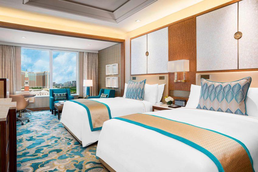 The St. Regis Macao Luxury Hotel - Cotai, Macau SAR, China - Deluxe Guest Room Queen