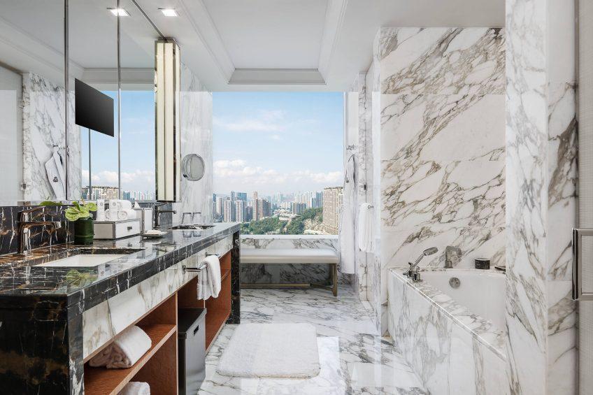 The St. Regis Macao Luxury Hotel - Cotai, Macau SAR, China - Empire Suite Bathroom Tub
