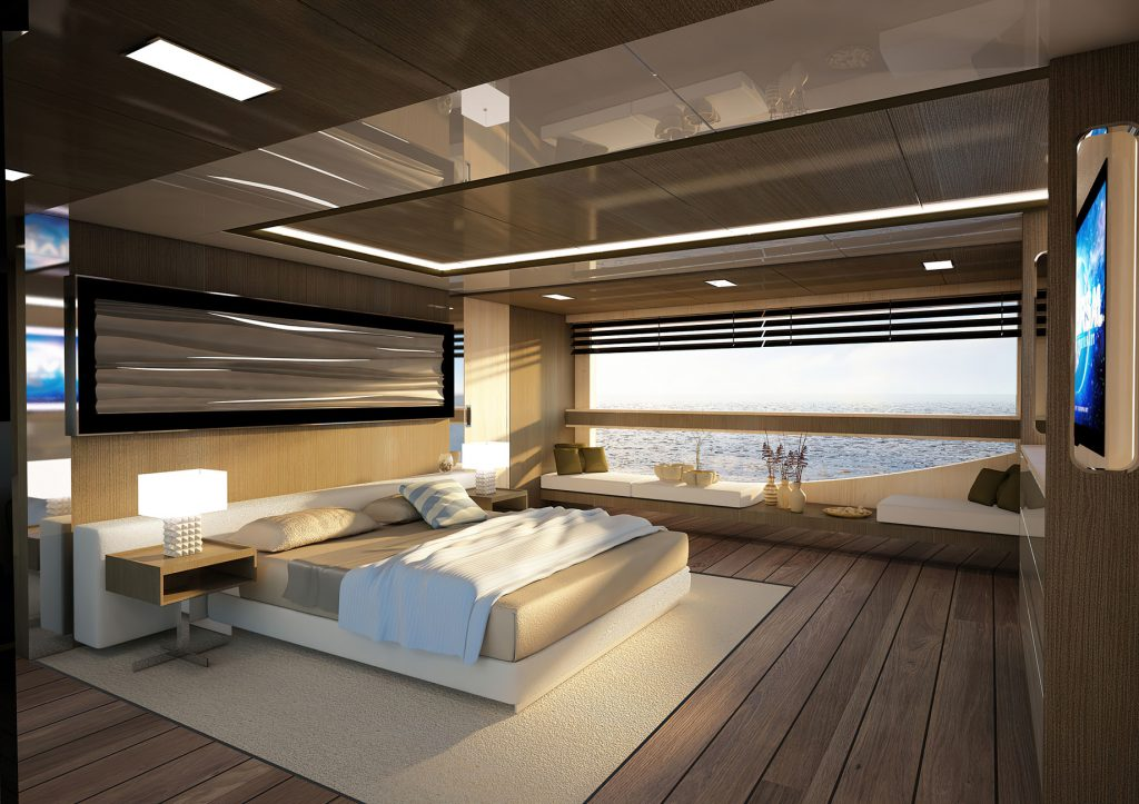 Discover Six of the Best Luxury Yachts for Sale - New Build - REALE MY OMBRA 37 - Cabin