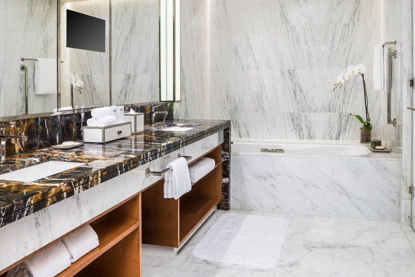 The St. Regis Macao Luxury Hotel - Cotai, Macau SAR, China - Metropolitan Suite Bathroom