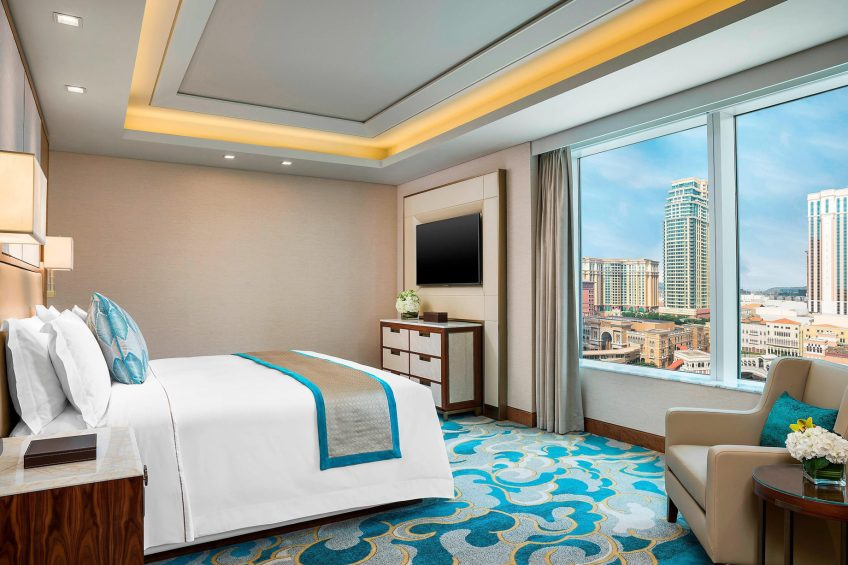 The St. Regis Macao Luxury Hotel - Cotai, Macau SAR, China - Metropolitan Suite Bedroom