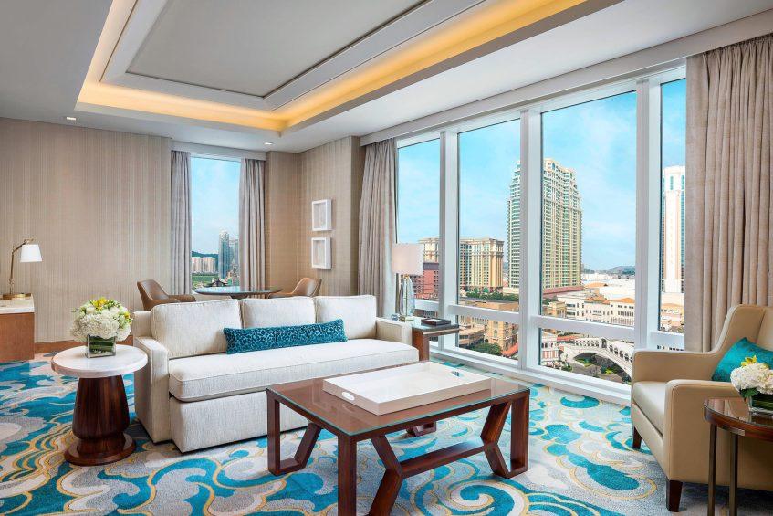 The St. Regis Macao Luxury Hotel - Cotai, Macau SAR, China - Metropolitan Suite Living Area