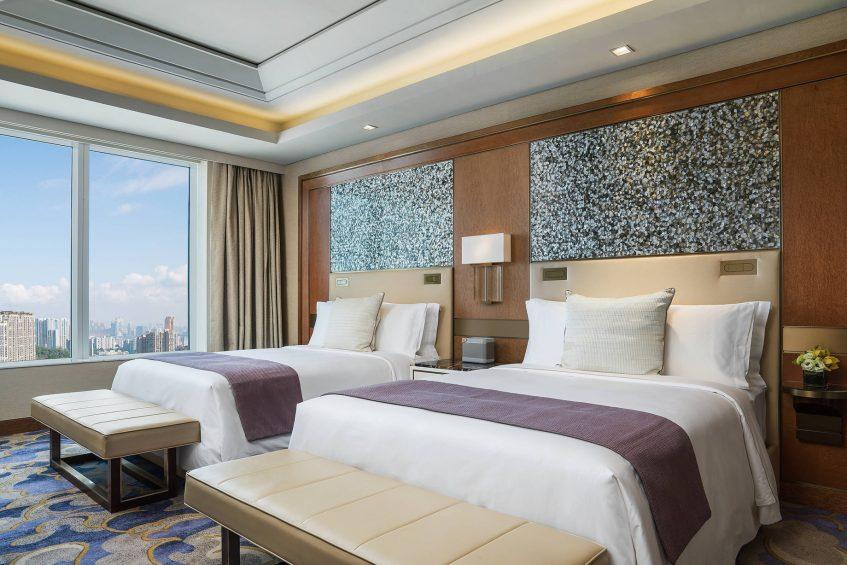 The St. Regis Macao Luxury Hotel - Cotai, Macau SAR, China - St. Regis Suite Bedroom Queen Beds