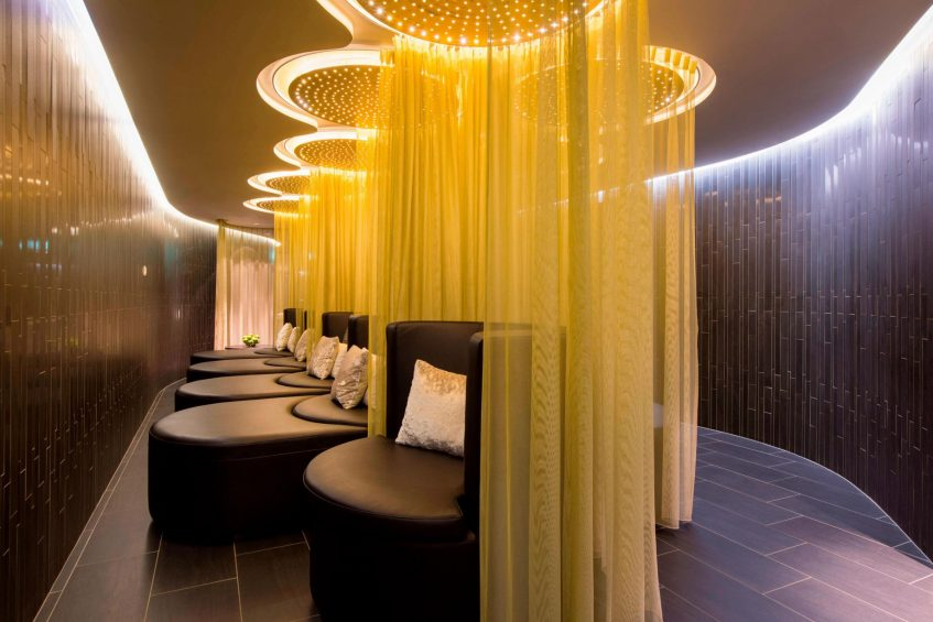 W Verbier Luxury Hotel - Verbier, Switzerland - AWAY Spa Lounge Area