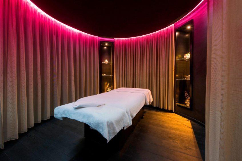 W Verbier Luxury Hotel - Verbier, Switzerland - AWAY Spa Treatment Room Decor