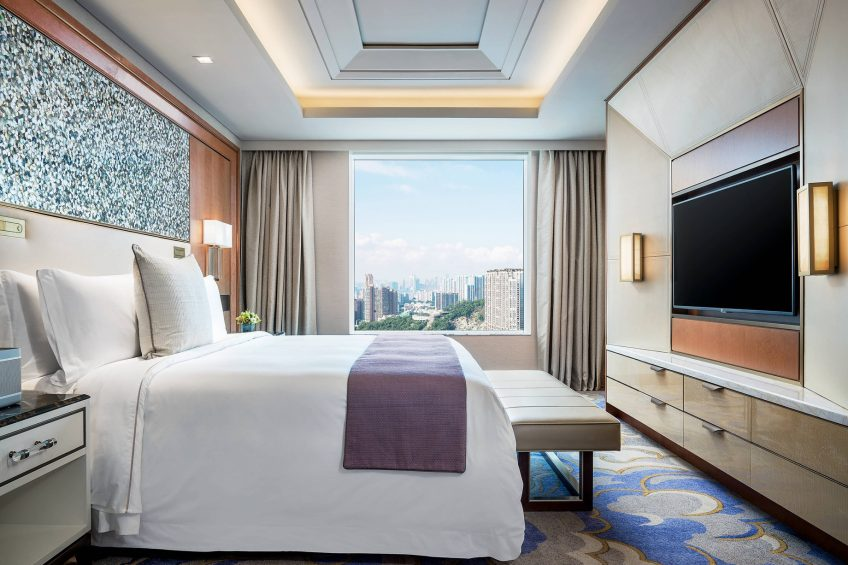 The St. Regis Macao Luxury Hotel - Cotai, Macau SAR, China - St. Regis Suite Bedroom