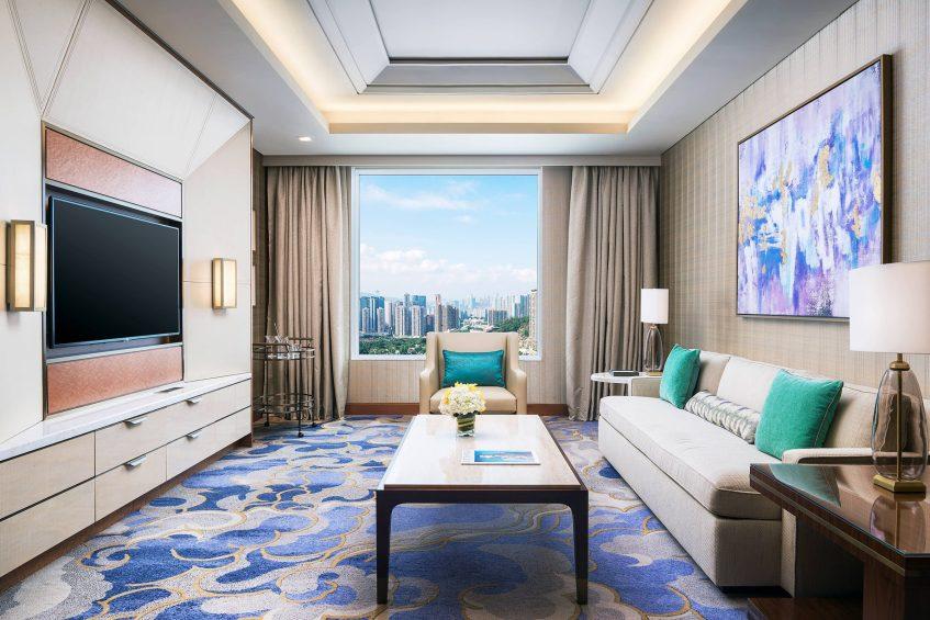 The St. Regis Macao Luxury Hotel - Cotai, Macau SAR, China - St. Regis Suite Living Area