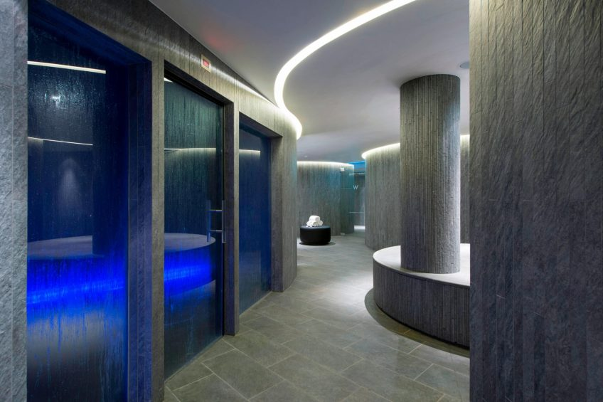 W Verbier Luxury Hotel - Verbier, Switzerland - AWAY Spa Steam Room
