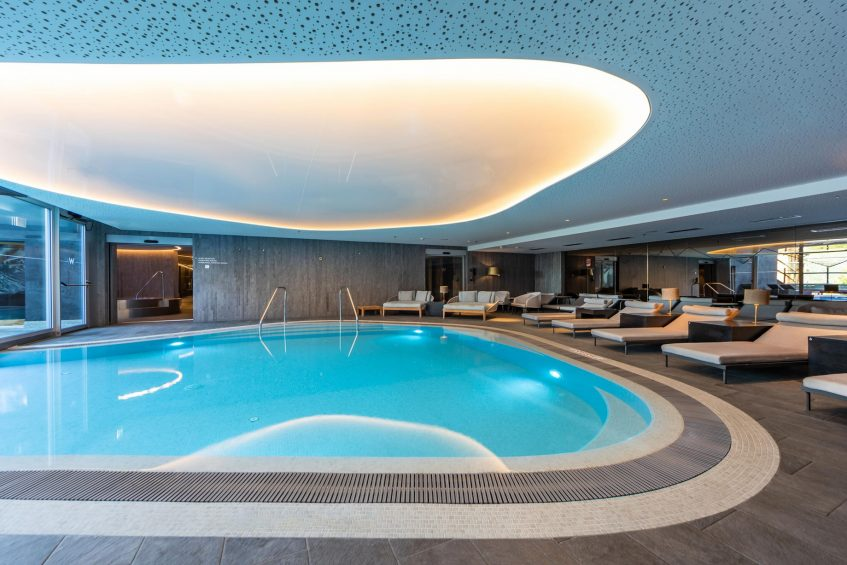W Verbier Luxury Hotel - Verbier, Switzerland - AWAY Spa Relaxation Pool