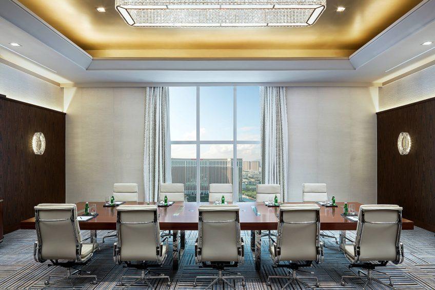 The St. Regis Macao Luxury Hotel - Cotai, Macau SAR, China - Pearl Boardroom