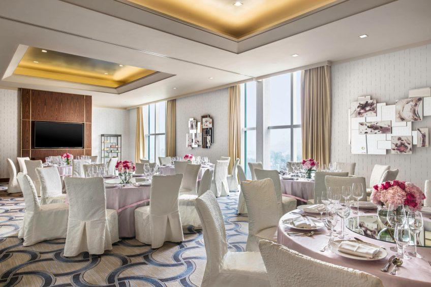 The St. Regis Macao Luxury Hotel - Cotai, Macau SAR, China - Meeting Room Banquet
