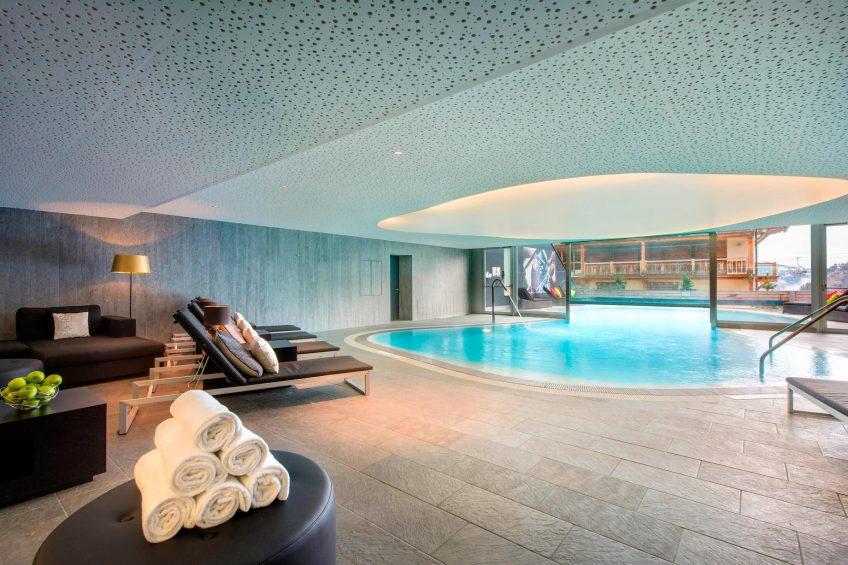 W Verbier Luxury Hotel - Verbier, Switzerland - AWAY SPA Pool