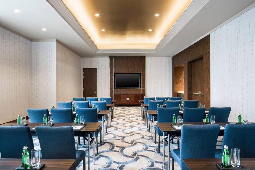 The St. Regis Macao Luxury Hotel - Cotai, Macau SAR, China - Jade Meeting Room Classroom