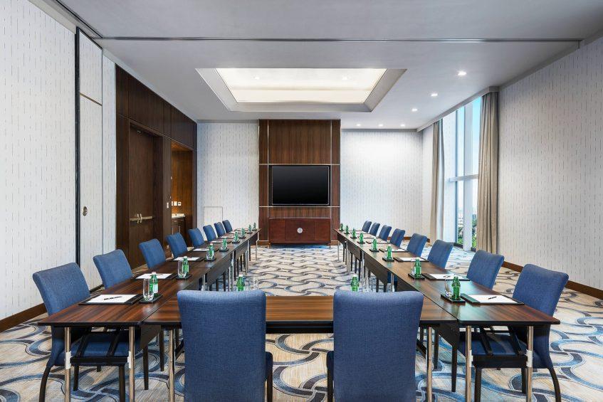 The St. Regis Macao Luxury Hotel - Cotai, Macau SAR, China - Amber Meeting Room U Shape Setup