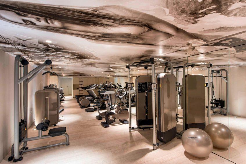 W Verbier Luxury Hotel - Verbier, Switzerland - Fitness Center Decor