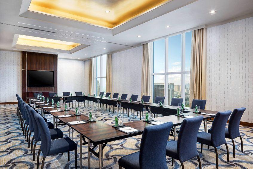 The St. Regis Macao Luxury Hotel - Cotai, Macau SAR, China - Amber Meeting Room