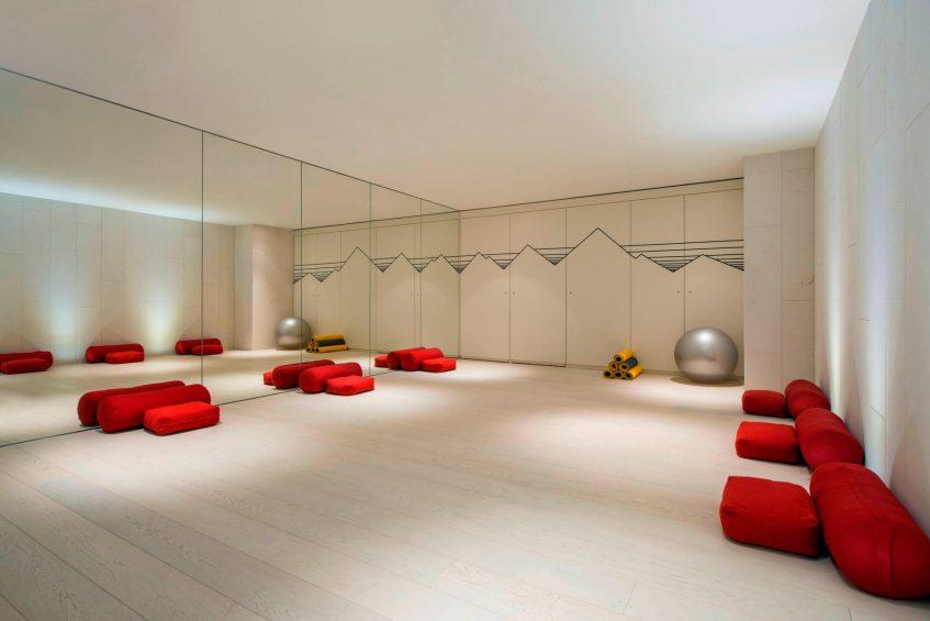 W Verbier Luxury Hotel - Verbier, Switzerland - Fitness Center Room
