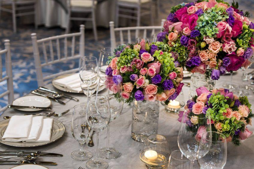 The St. Regis Macao Luxury Hotel - Cotai, Macau SAR, China - Wedding Table Decor