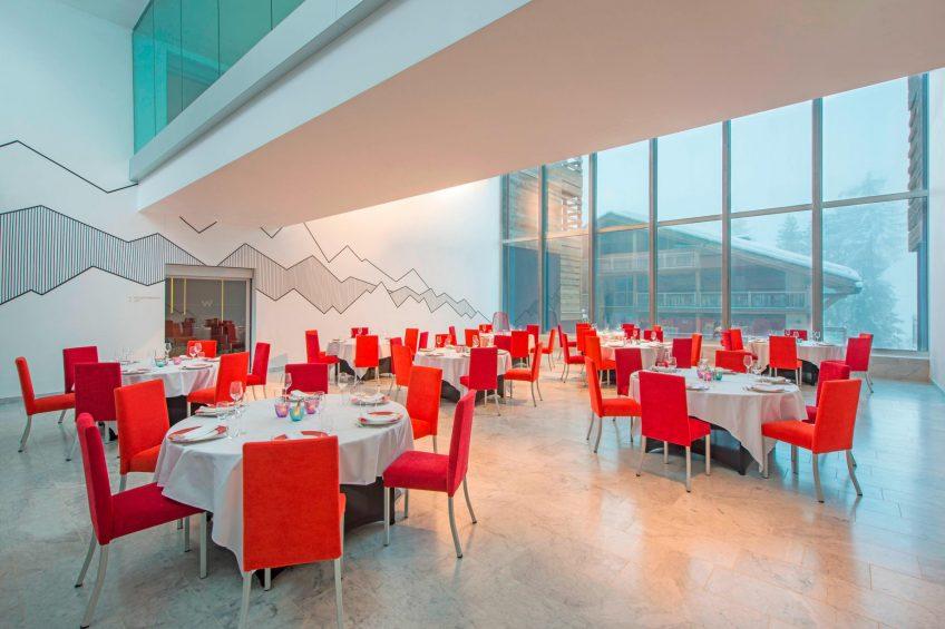 W Verbier Luxury Hotel - Verbier, Switzerland - Studio Banquet