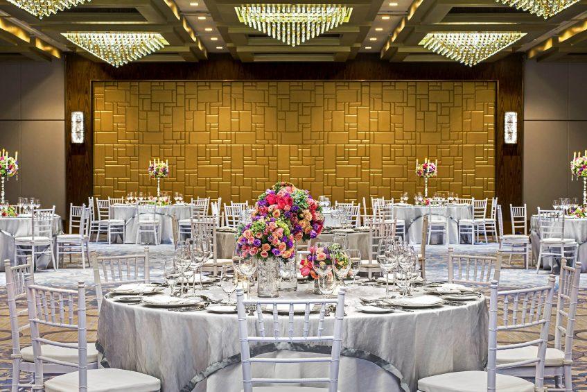 The St. Regis Macao Luxury Hotel - Cotai, Macau SAR, China - Astor Ballroom Western Wedding