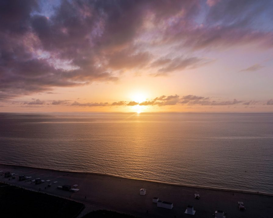 W South Beach Luxury Hotel - Miami Beach, FL, USA - Oceanfront Sunset