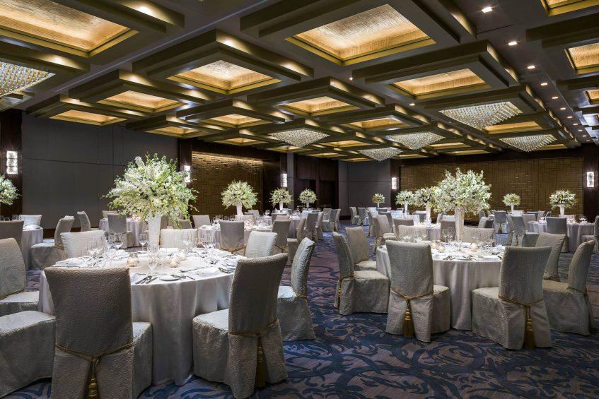 The St. Regis Macao Luxury Hotel - Cotai, Macau SAR, China - Astor Ballroom Gala Dinner