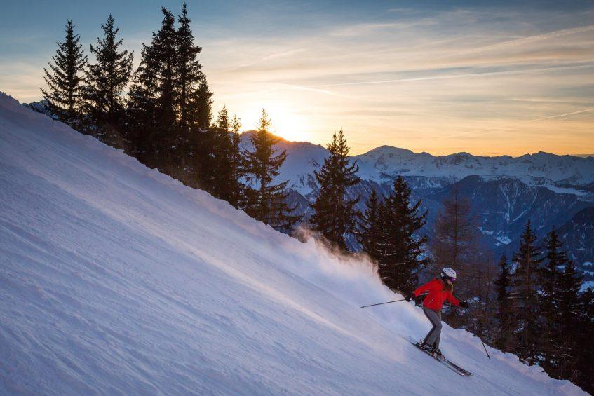 W Verbier Luxury Hotel - Verbier, Switzerland - Skiing Twilight