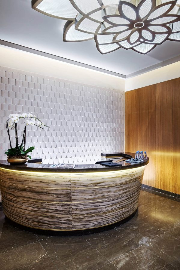 The St. Regis Macao Luxury Hotel - Cotai, Macau SAR, China - St. Regis Athletic Club Reception