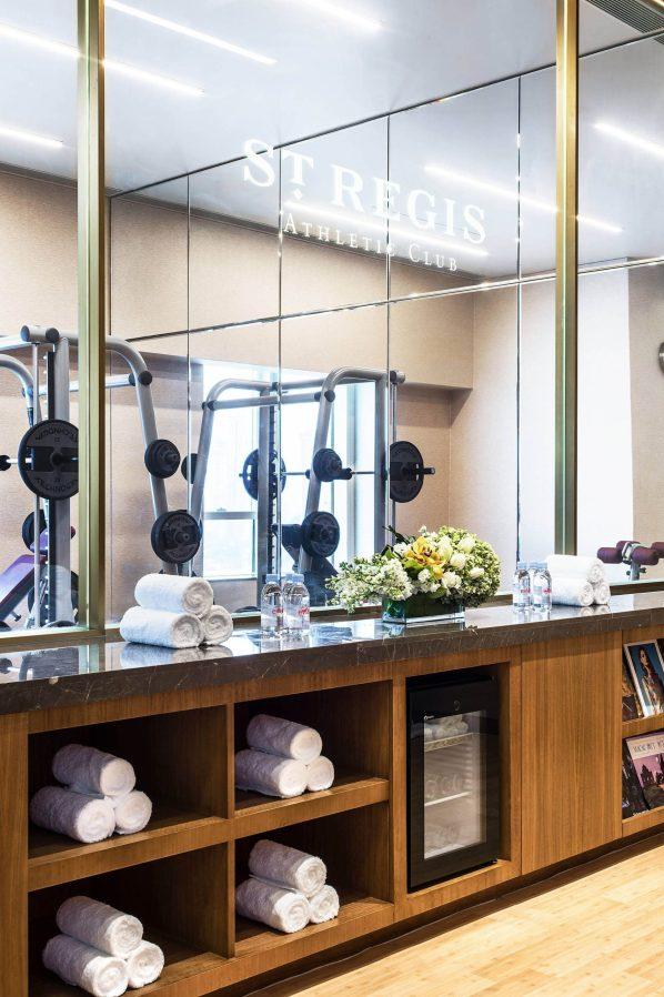 The St. Regis Macao Luxury Hotel - Cotai, Macau SAR, China - St. Regis Athletic Club Decor