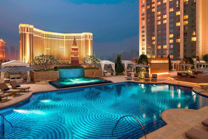 The St. Regis Macao Luxury Hotel - Cotai, Macau SAR, China - St. Regis Exterior Pool