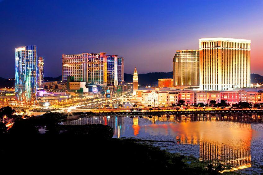 The St. Regis Macao Luxury Hotel - Cotai, Macau SAR, China - Macao Night View