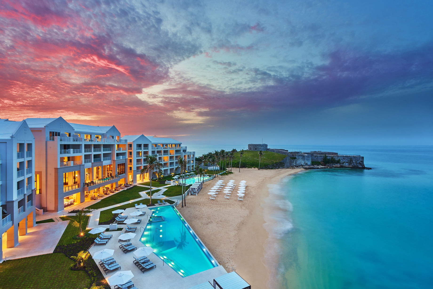 The St. Regis Bermuda Luxury Resort - St George's, Bermuda - Resort Sunset