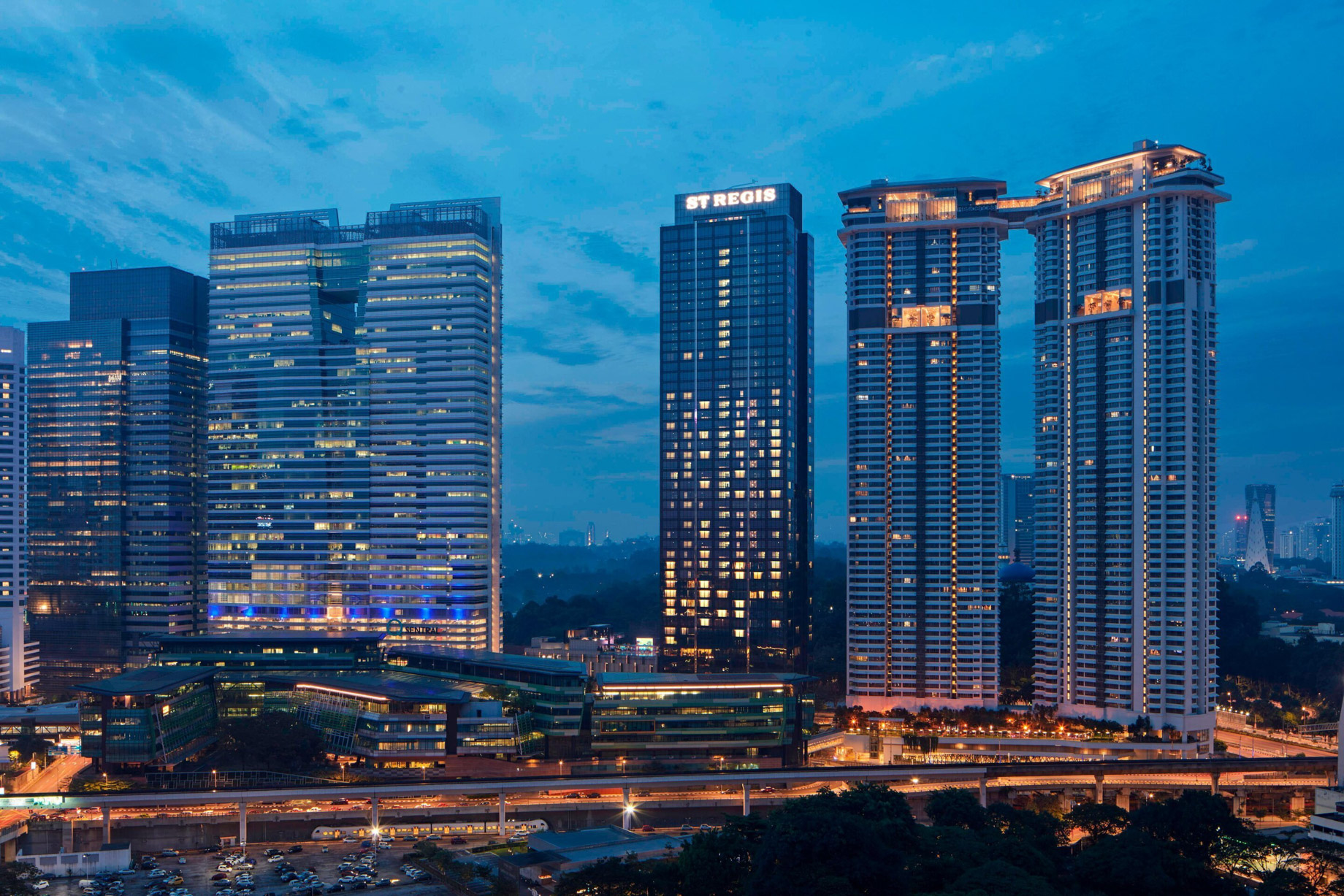 The St. Regis Kuala Lumpur Luxury Hotel - Kuala Lumpur, Malaysia - Hotel Exterior