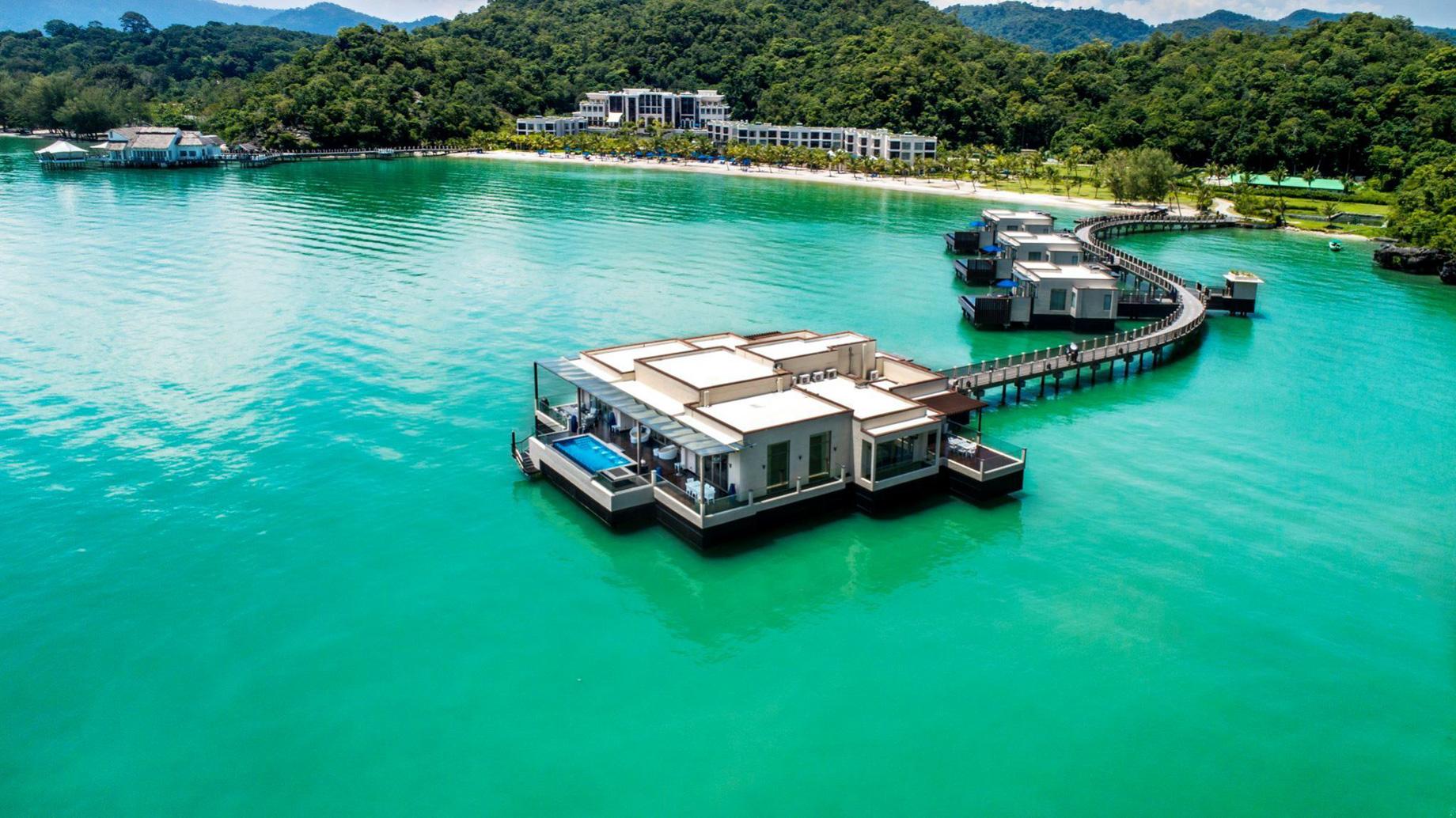 The St. Regis Langkawi Luxury Resort - Langkawi, Malaysia - The St Regis Langkawi Overwater Villas