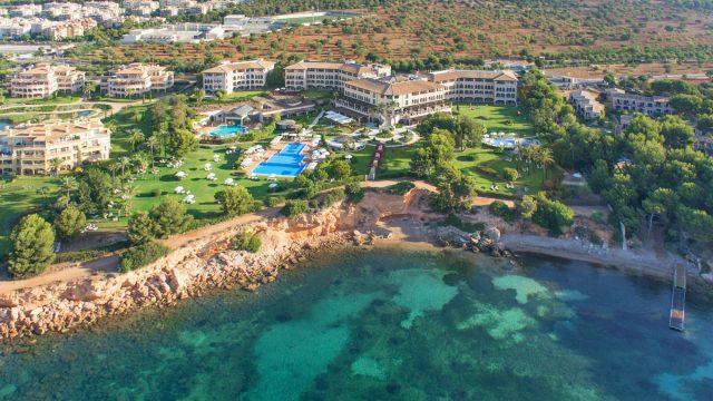 The St. Regis Mardavall Mallorca Luxury Resort - Palma de Mallorca, Spain - Resort Aerial View